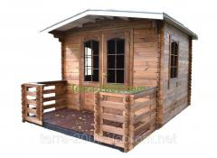 Балкон веранда, беседка деревянная - цена, фото,