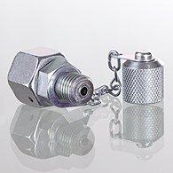 Check valves, male thread at top - K-STROEV AG OBEN