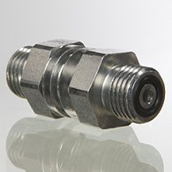 The backpressure valve, connector - RD HJOF