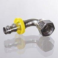 The plug-in nipple, DKJ, corner 90 ° - ND AJ 90