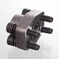 Screw flange of SAE, BSP - AFS G M (3000 PSI)