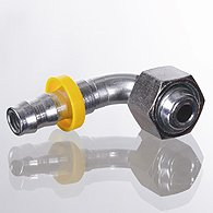 The plug-in nipple, DKL, corner 90 ° - ND AFL 90