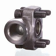 Screw flange of BSP, corner 90 ° - AFS 90 G U