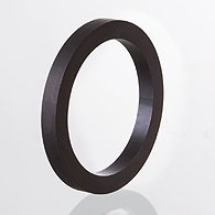 Ring of round section for flanged coupling of SAE