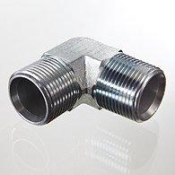 El tubo de empalme vvertnyy, la esquina 90 ° - W90