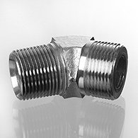 The screw union, corner 45 ° - W45 HN HJOF