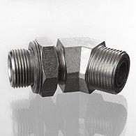 The screw union, corner 45 ° - W45 HMO HJOF