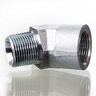 The screw union, corner 45 ° - W45 HRK IR