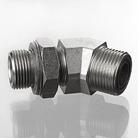 The screw union, corner 45 ° - W45 HRO HJOF