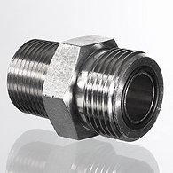 Blow guns die-cast aluminium nickel-plated, without nozzle, Safety - K-LP ALU O DUESE