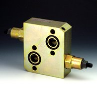 The shock valve for the hydraulic planetary motor
