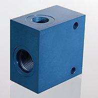 Корпус клапана для ввинчиваемого клапана SAE 2 хода алюминий - HK GEH 20 AL