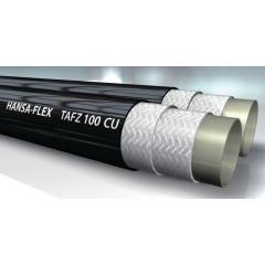 Шланг высокого давления, тип TAFZ CU, сдвоенный, медный провод - TAFZ 100 CU