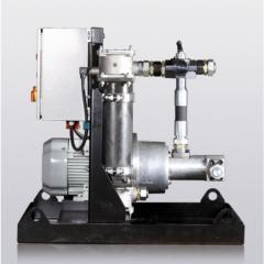 Установка с неполнопоточным фильтром, тип E - NSFA Typ E