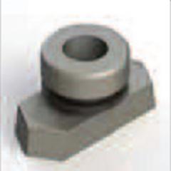 Рядная приварная пластина, однотрубный хомут - SRS 0 SP R