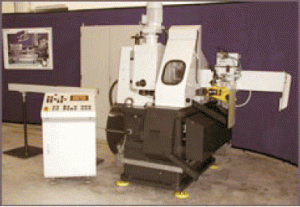 Automatic machine for high-speed cutting of the