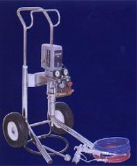 Graco airless paint-spraying equipment (United