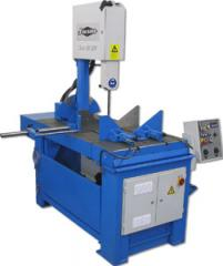 Band-cutting vertical manual and semi-automatic