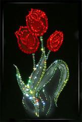 Коллекция: картины с кристаллами Swarovski Кол-во