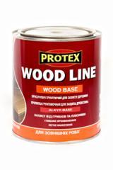 Пропитка грунтующая для защиты древесины WOOD LINE