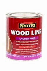 Лаковая защитная пропитка древесины WOOD LINE