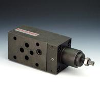 Unidirectional flow control valves, outgoing air restriction (C), screw connection - K-DRV ABLD GEW C SCHLITZ