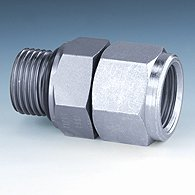Spiral hose and coupling kit with pushbutton-type safety coupling (DN 7.4) and push-in plug, galvanised steel - K-SPIR SCHL KUPPL SET LKM NW 7,4