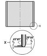 Cylinder sleeve, BK-1 - BK-1