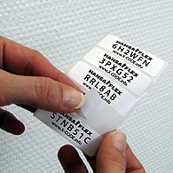 Marking of products - X-CODE STICKER