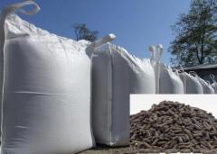 The organic NPK 5-3-3 fertilizer granulated (in