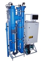 Systems of ozonization for water treatment of