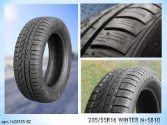 Зимние восстановленные шины 205/55 R16 BAR-GUM M+S