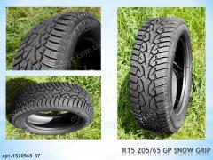 Зимние восстановленные шины 205/60 R16 GP Snow
