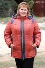 Куртка плащевка большие размеры PK1-192