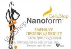 НаноФорм Целлюстоп Уменьшает проявление целлюлита