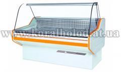 Refrigerating medium temperature show-window of