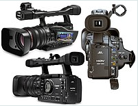 Видеокамеры профессиональные