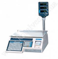 Весы с печатью этикеток CAS LPR