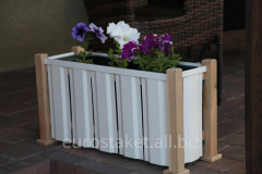 Original Stand for flowerpots with flowers