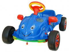 The car pedal Herbie, a sound, 80kh44kh54sm, in a