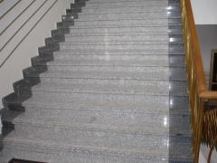 Ladders from marble and granite to order