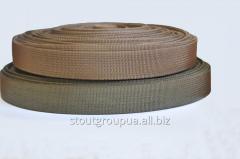 Webbing belt polyamide 25 mm, breaking load: 5000