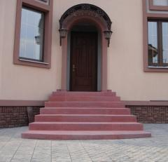 Steps street to order Kharkiv