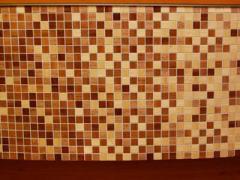 Tile a mosaic from granite to order Kharkiv
