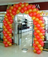 Украшение воздушными шарами на заказ