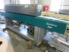 The machine for glass processing