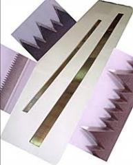 Industrial knives for the equipmen