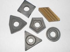 Пластины режущие сменные многогранные