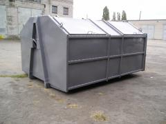 Container BBK12, metal for large-size and not