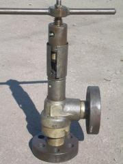 The gate the valve locking angular from the ends